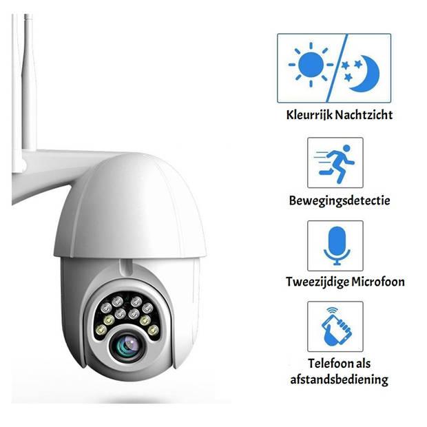 Parya Official - IP Dome Camera - IP66 Waterdichtheid - 1080P