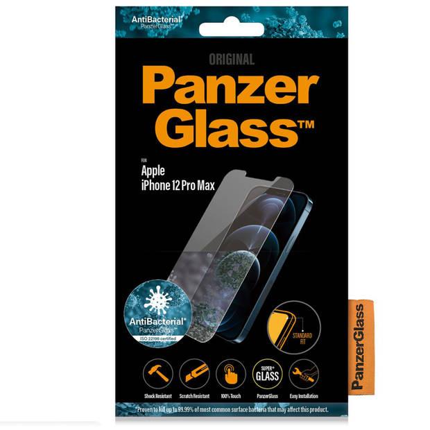 PanzerGlass Screenprotector voor de iPhone 12 Pro Max