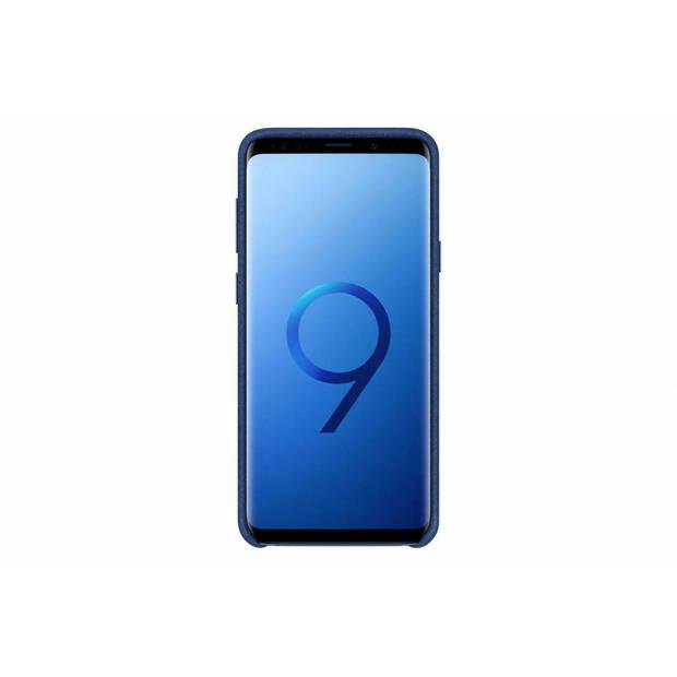 Alcantara Backcover Samsung Galaxy S9 Plus hoesje - Blauw