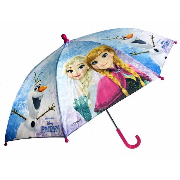 Frozen meisjes paraplu 37,5 cm ice blauw