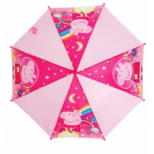 Peppa Pig meisjes paraplu roze 46 cm