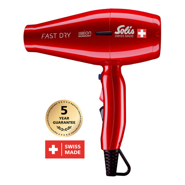 Solis Fast Dry (381) - Föhn Rood