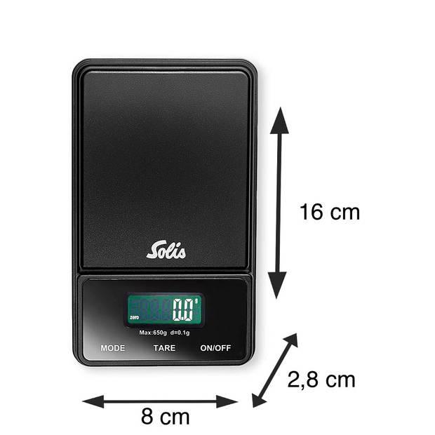Solis Digital Pocket Scale (1030) - Precisie Weegschaal
