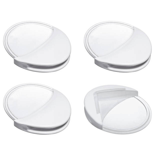 Reer hoekbescherming transparant/wit (4 stuks)