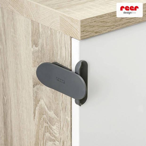 Designline slot voor electrische apparaten, schuifdeuren en nog veel meer 2 stuks antraciet