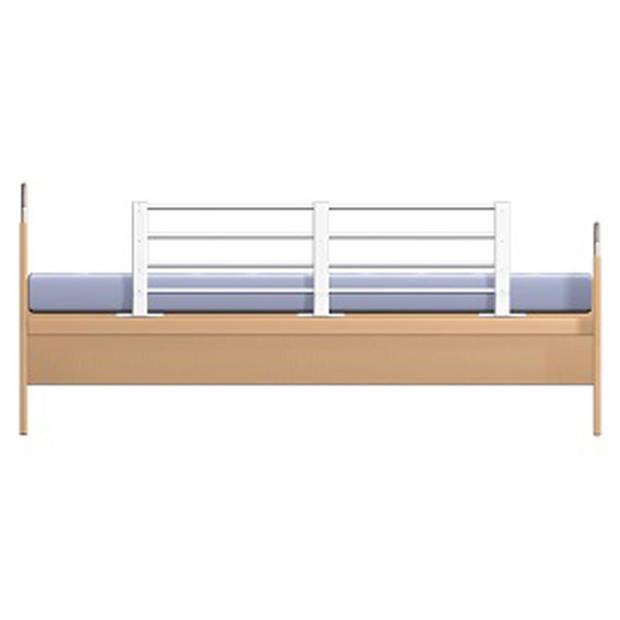 Reer in lengte en hoogte verstelbaar bedhek Wit