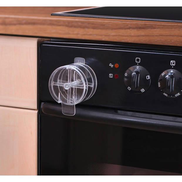 Oven beveiliging / ovendeurstopper Transparant