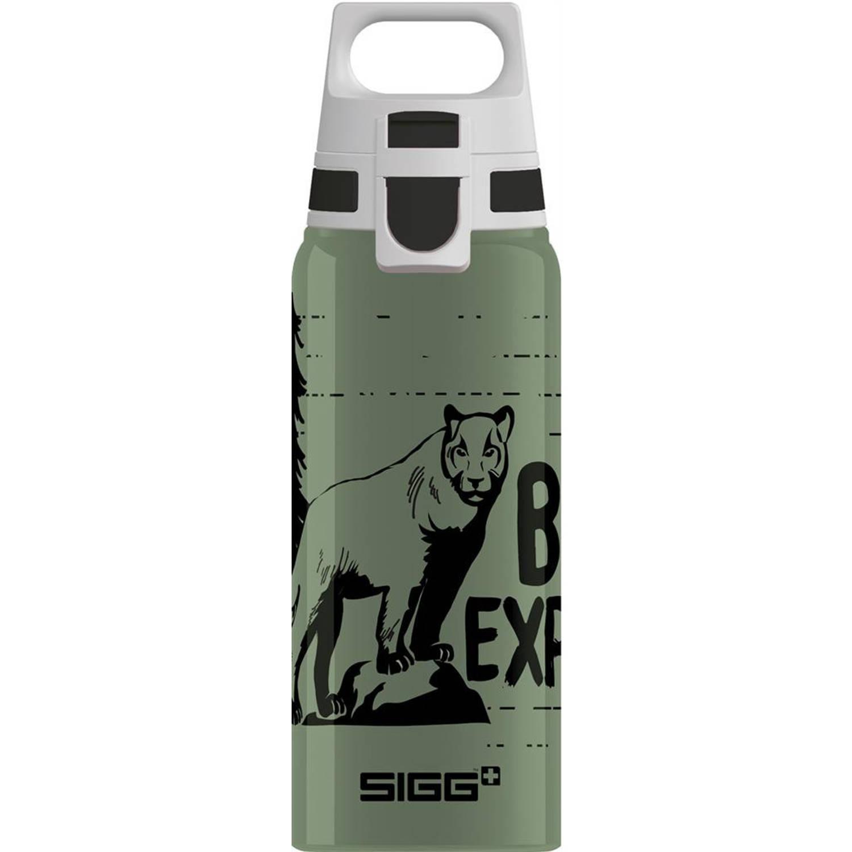 Sigg Drinkfles Brave Mountain Lion 500 Ml Aluminium Groen