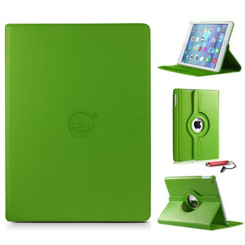 Ipad Hoes 2-3-4 Hem Cover Groen Met Uitschuifbare Hoesjesweb Stylus