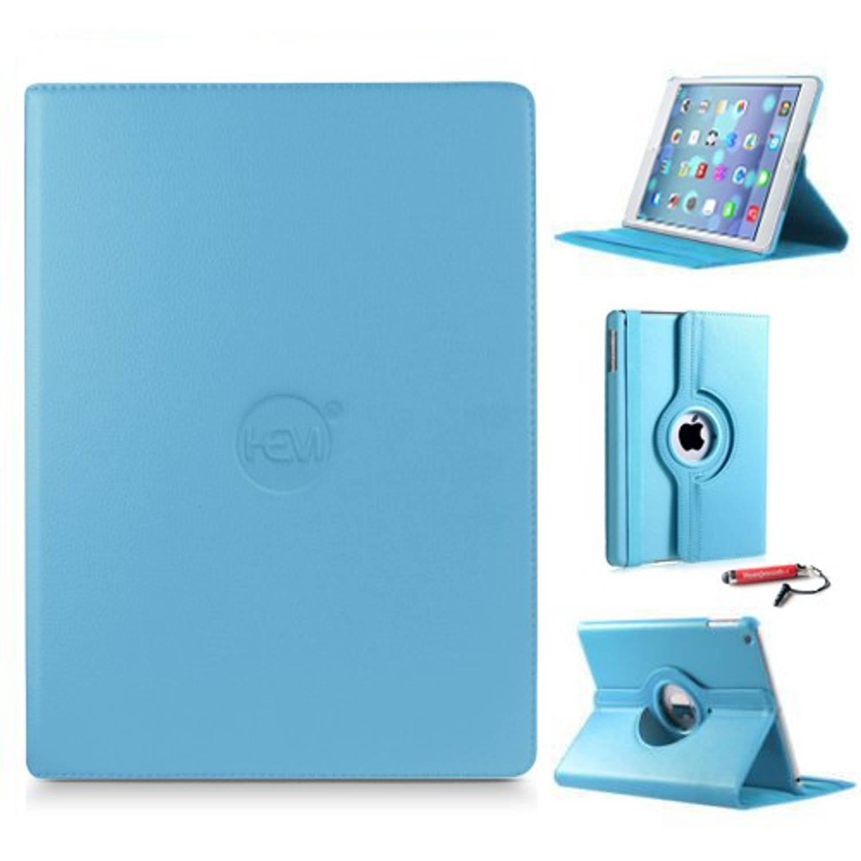 Ipad Hoes 2-3-4 Hem Cover Licht Blauw Met Uitschuifbare Hoesjesweb Stylus