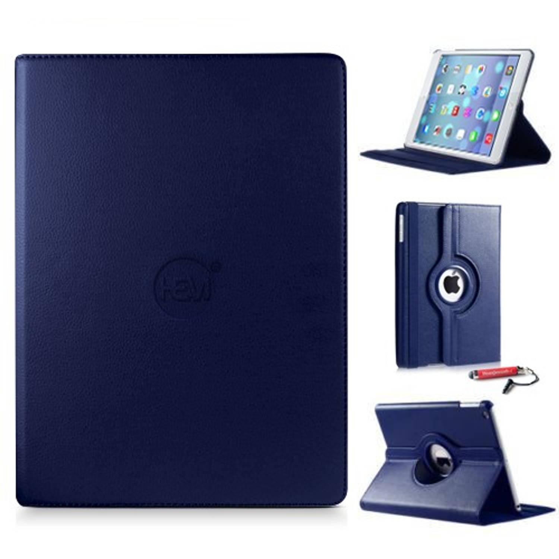 Ipad Hoes Mini 4 Hem Cover Donker Blauw Met Uitschuifbare Hoesjesweb Stylus