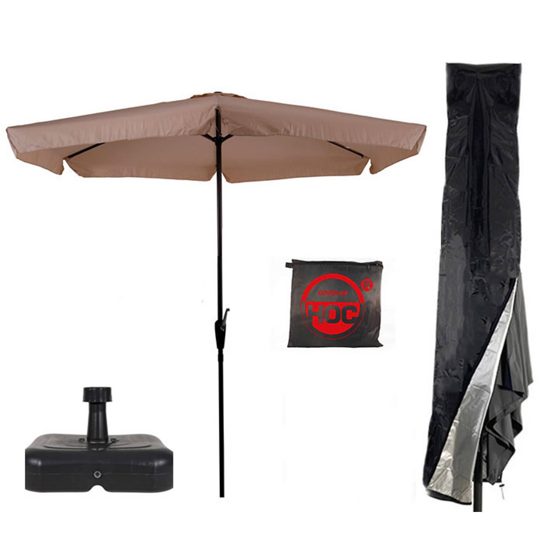 Parasol Parasolvoet Parasolhoes Ecru Vulbare Parasolvoet Cuhoc Parasolhoes Super Combideal