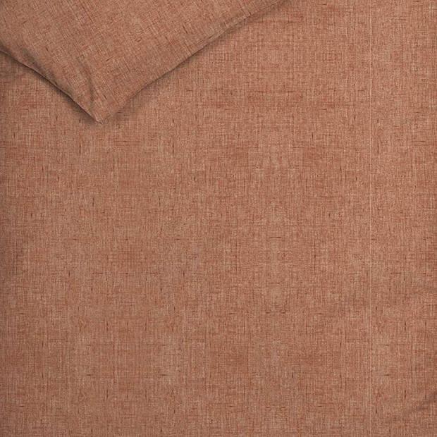 Heckett & Lane Heckett & Lane Franela flanel dekbedovertrek - 1-persoons (140x200/220 cm + 1 sloop) - Flanel - Red