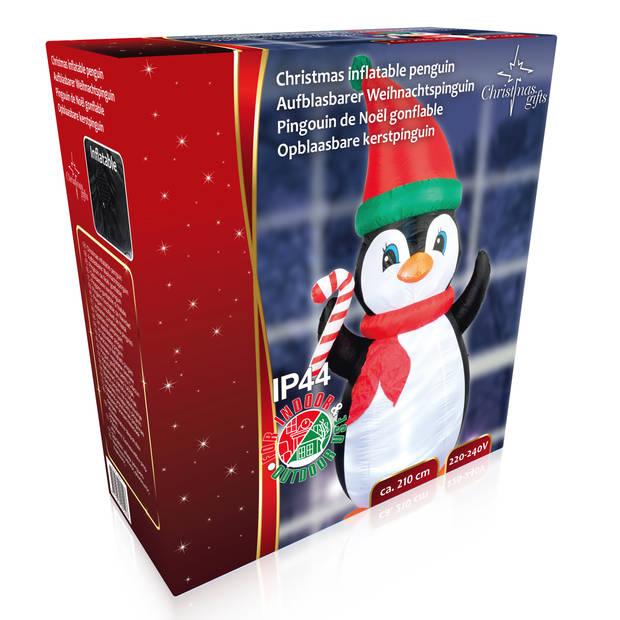Christmas Gifts - Opblaasbare Kerstpinguin - 210cm - 220/240V - Binnen & Buiten
