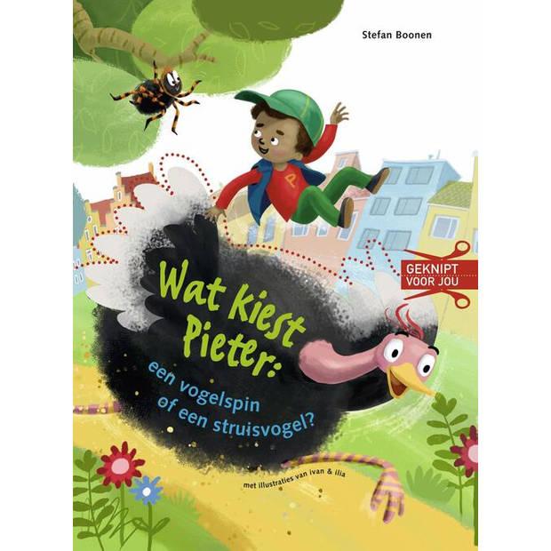 Wat kiest Pieter: een vogelspin of een struisvogel?