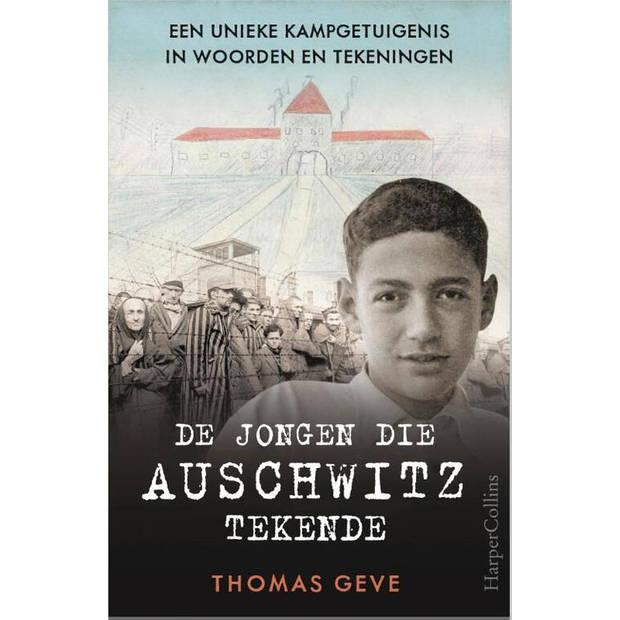 De jongen die Auschwitz tekende - tafeldisplay à 6 ex.