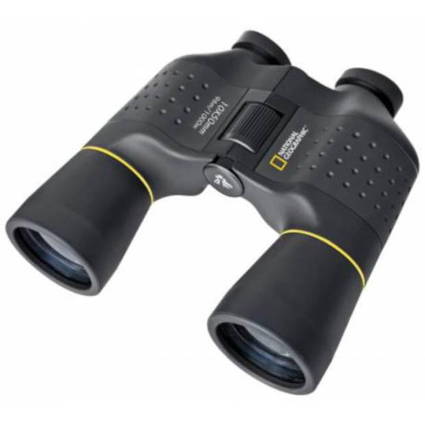 National Geographic verrekijker Porro prisma 19,5 cm staal zwart