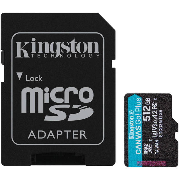 CANVAS GO! PLUS MICROSDXC 512 GB