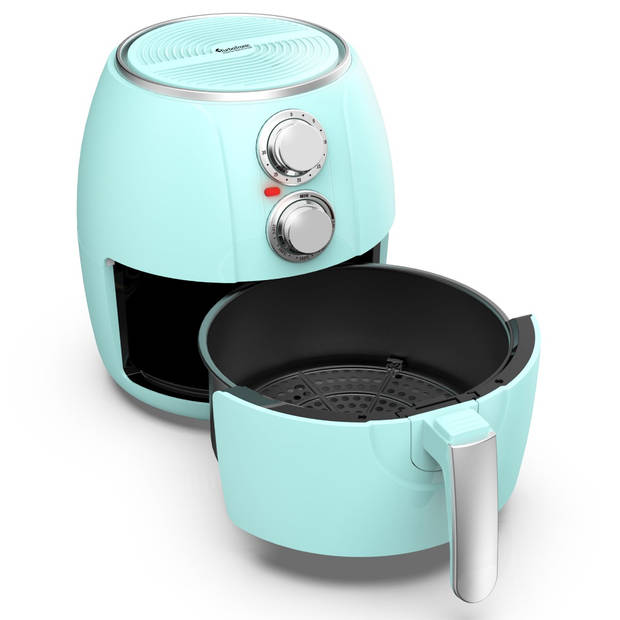 TurboTronic AF3 Airfryer 3 Liter - Turqoise
