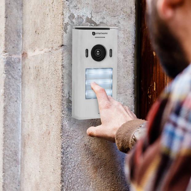 DIC-22132 Video intercom systeem voor 3 appartementen