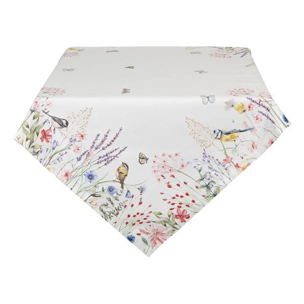 Clayre & Eef tafelkleed - meerkleurig - 150 x 150 cm - katoen - SFL15