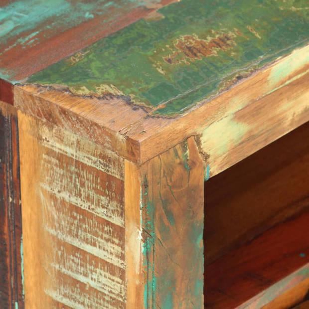 vidaXL Tv-meubel 119x30x41 cm massief gerecycled hout
