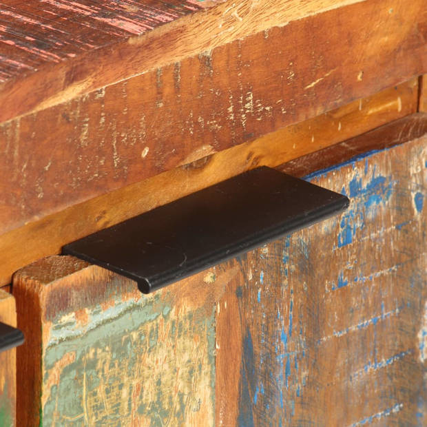 vidaXL Dressoir 59x33x75 cm massief gerecycled hout