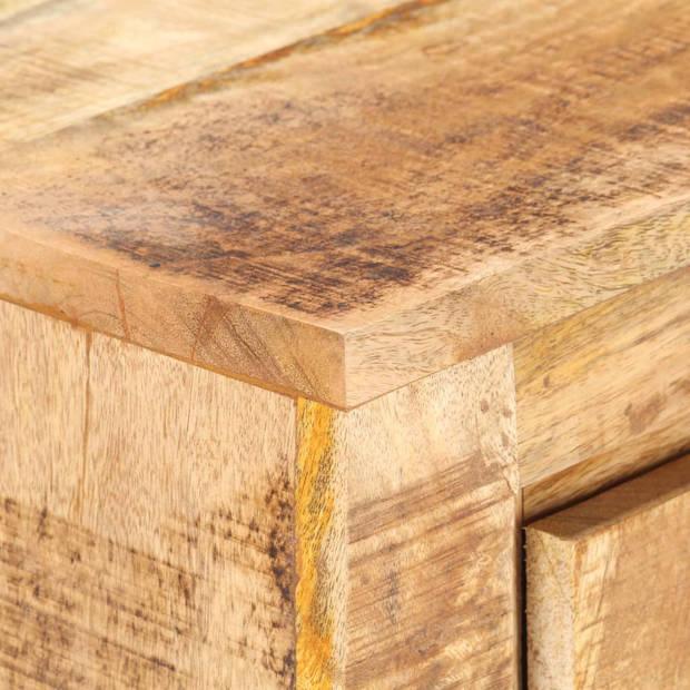 vidaXL Dressoir 59x33x75 cm ruw mangohout