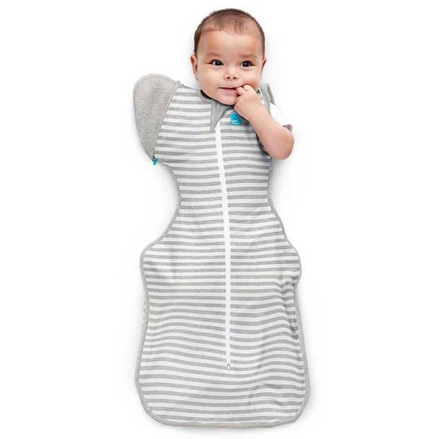 Love to Dream Babydoek Swaddle Up Transition Bag fase 2 M grijs