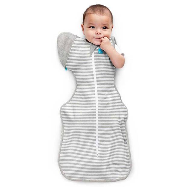 Love to Dream Babydoek Swaddle Up Transition Bag fase 2 L grijs