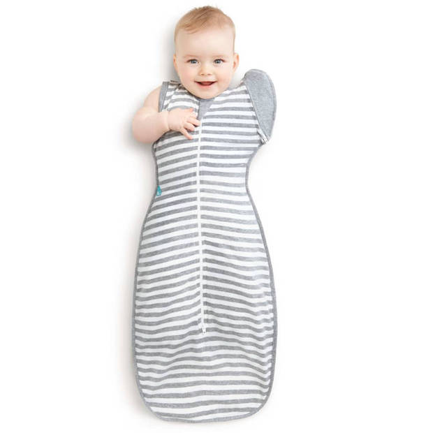 Love to Dream Babydoek Swaddle up Transition Bag fase 2 XL grijs