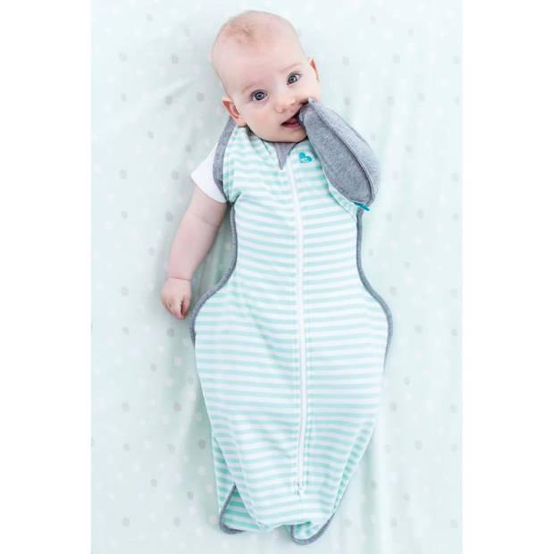 Love to Dream Babydoek Swaddle Up Transition Bag fase 2 L mint