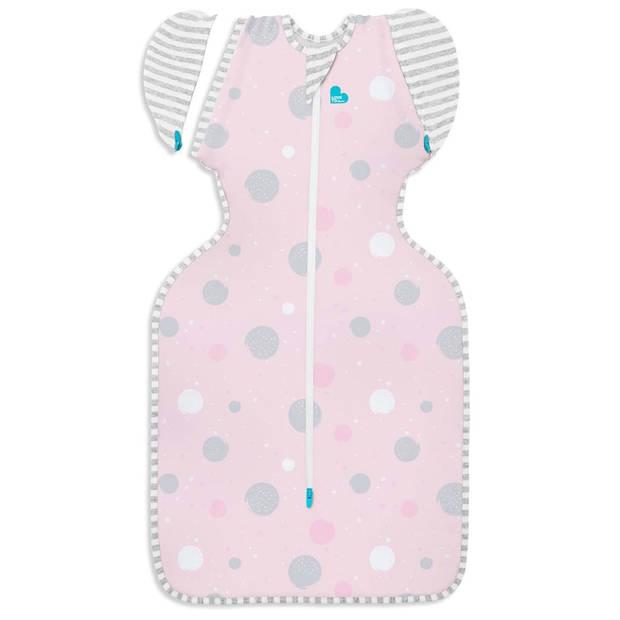Love to Dream Babydoek Swaddle Up Transition Bag Lite fase 2 M roze