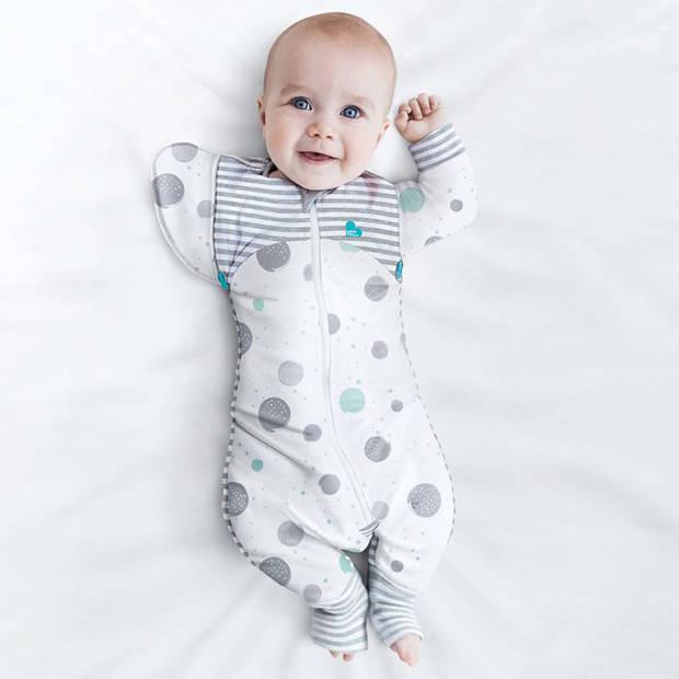 Love to Dream Babydoek Swaddle Up Transition Suit Lite fase 2 L wit