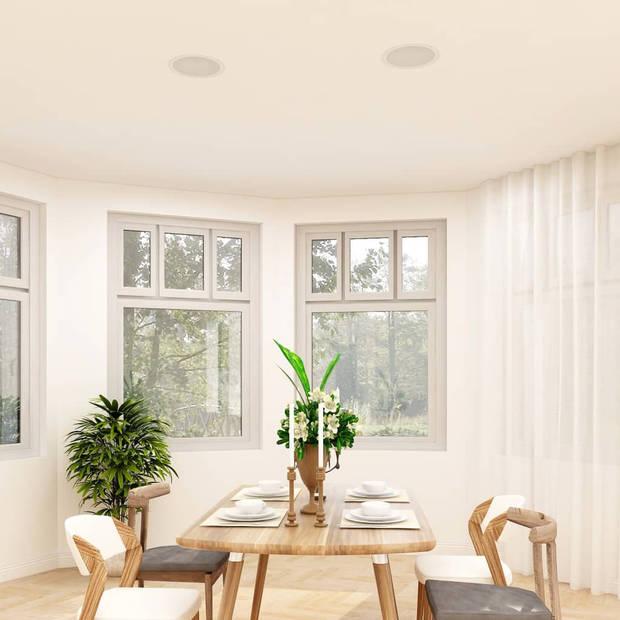 vidaXL Wand- en plafondluidsprekers inbouw 2 st 80 W