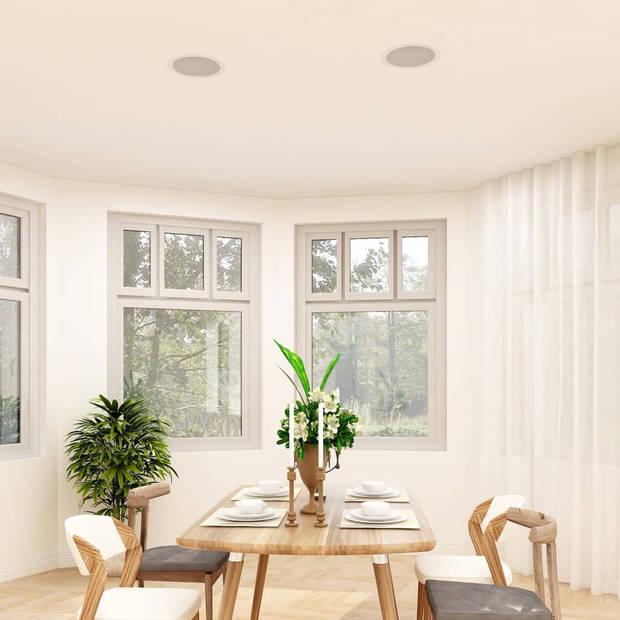 vidaXL Wand- en plafondluidsprekers inbouw 2 st 120 W