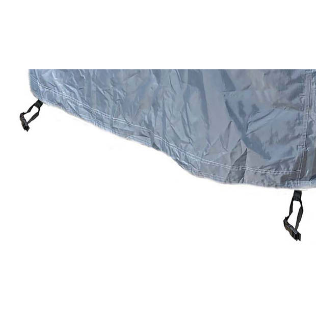CUHOC - Diamond hoes loungeset - 250x250x90 cm - loungeset beschermhoes waterdicht met Stormbanden, Trekkoord en