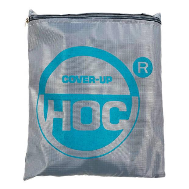 CUHOC - Diamond hoes tuinmeubelen- 123x123x74 cm - tuinset beschermhoes waterdicht met Stormbanden, Trekkoord en