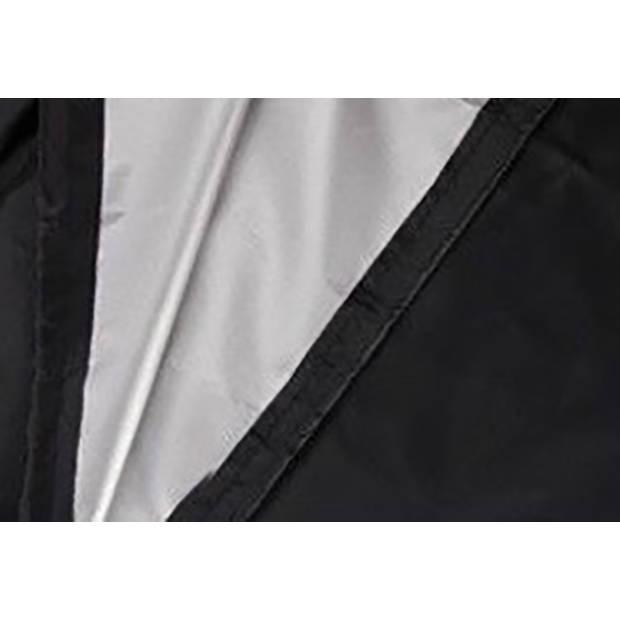 Zweefparasolhoes 280 cm / Beschermhoes Parasol / Afdekhoes Parasol met rits Zwart / 280x81x30x45