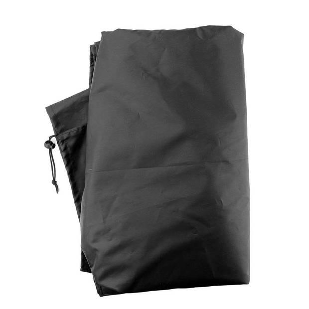 Beschermhoes Tuinmeubel 200x160x70 Zwart Loungeset