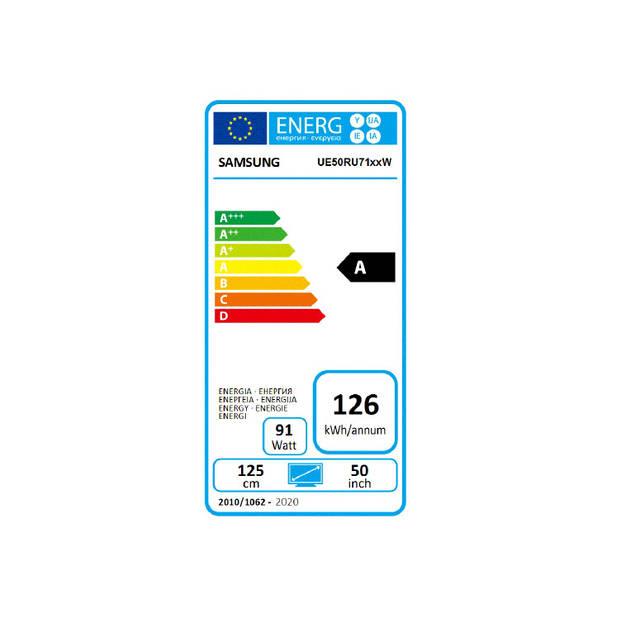 Samsung UE50RU7100 - 4K HDR LED Smart TV (50 inch)