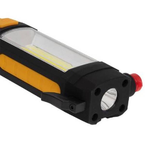 4goodz 5-in-1 LED Noodzaklamp met o.a. safetyhammer - 150 lmn - geel