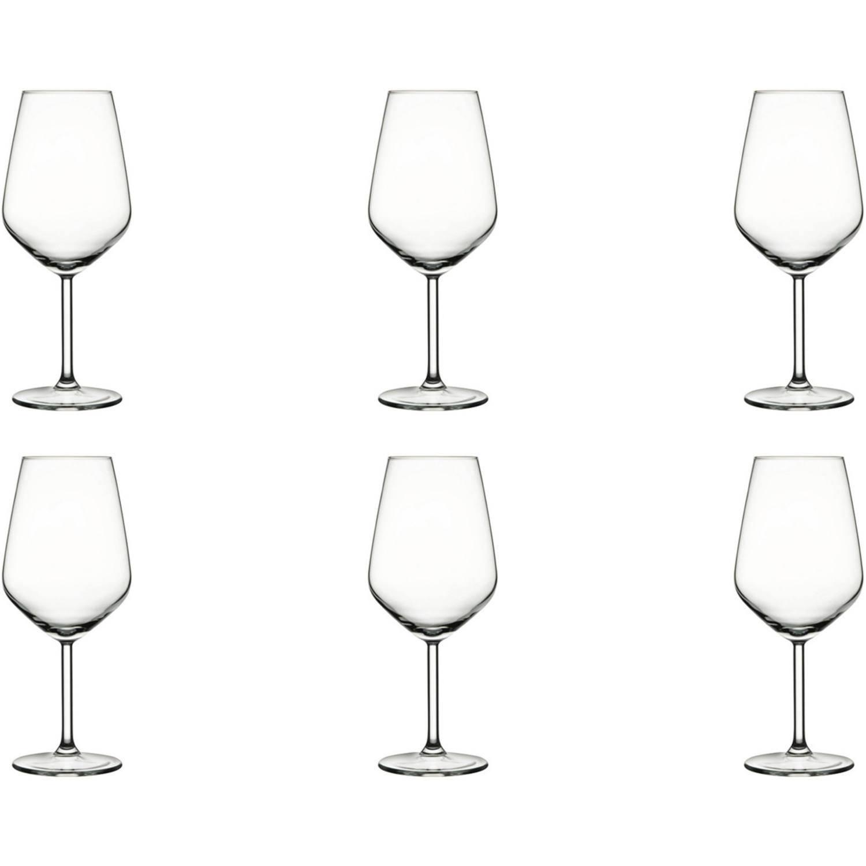 Pasabahce Wijnglas Allegra 49 Cl - Transparant 6 Stuk(s)