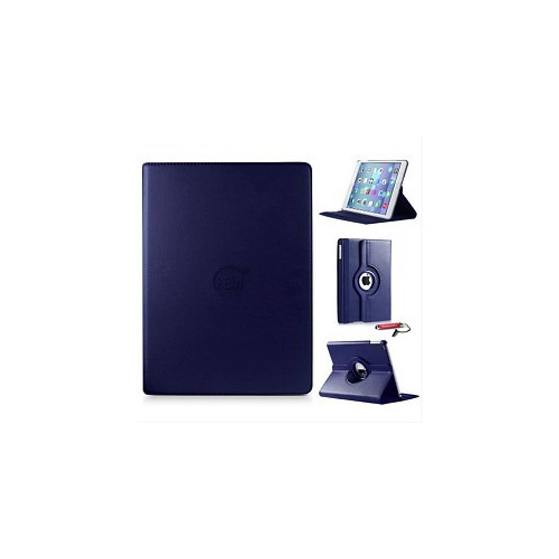 Donker Blauwe 360 Graden Draaibare Hoes Apple Ipad 9,7 (2017) 5e Generatie Met Handige Styluspen