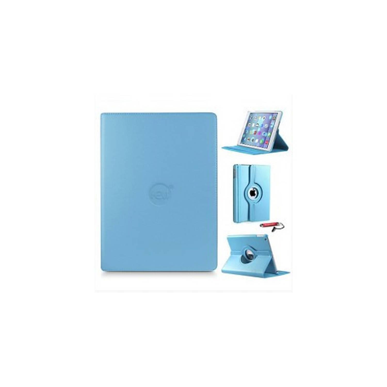 Licht Blauwe 360 Graden Draaibare Hoes Apple Ipad 9,7 (2017) 5e Generatie Met Handige Styluspen