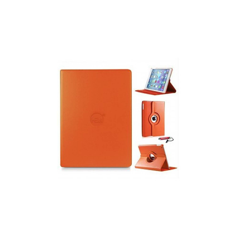 Oranje 360 Graden Draaibare Hoes Apple Ipad 9,7 (2017) 5e Generatie Met Handige Styluspen