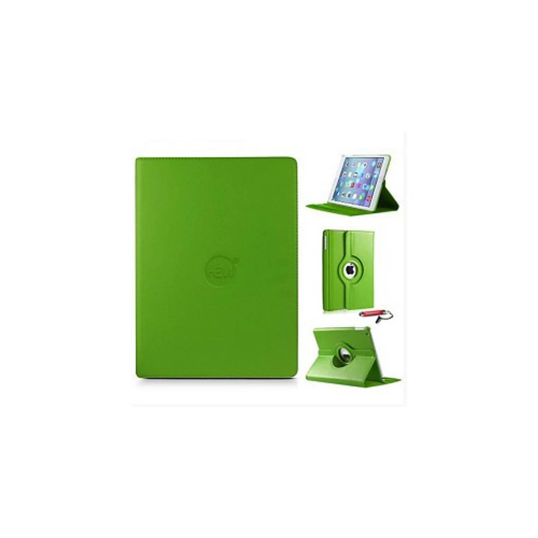 Groene 360 Graden Draaibare Hoes Apple Ipad 9,7 (2017) 5e Generatie Met Handige Styluspen