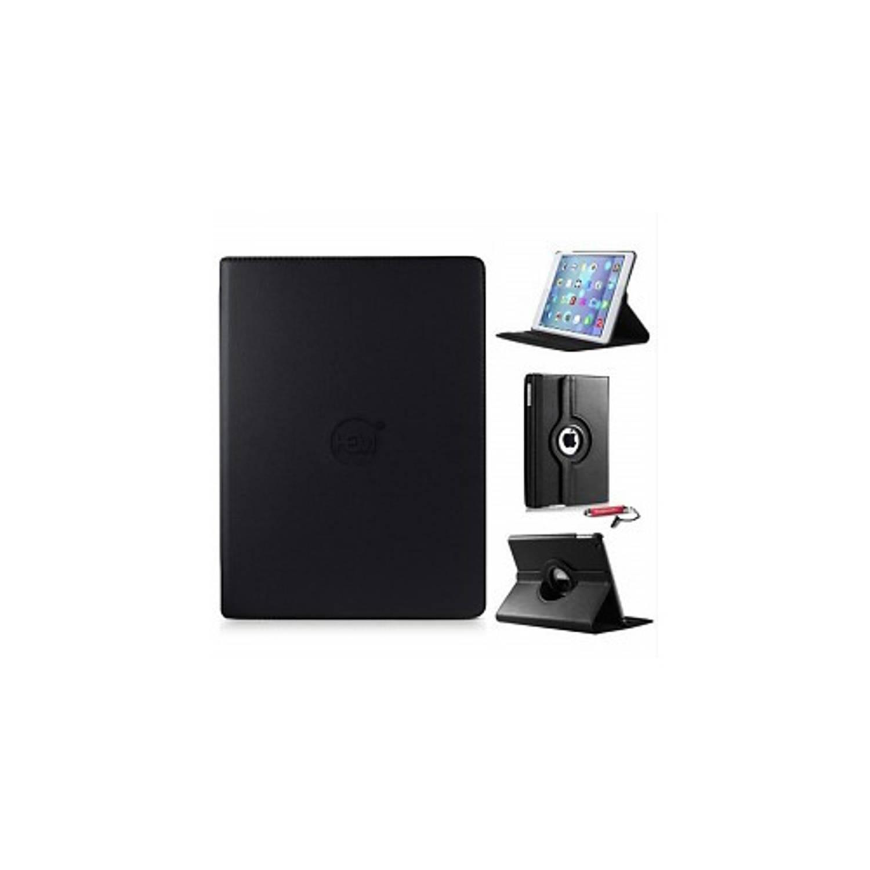 Zwarte 360 Graden Draaibare Hoes Apple Ipad 9,7 (2017) 5e Generatie Met Handige Styluspen