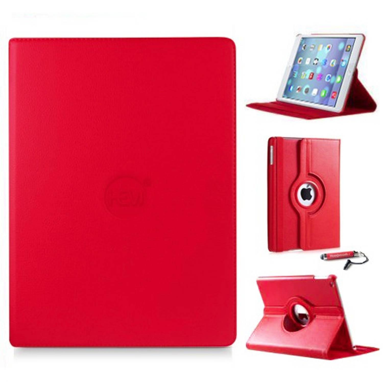 Rode 360 Graden Draaibare Hoes Apple Ipad 9,7 (2017) 5e Generatie Met Handige Styluspen