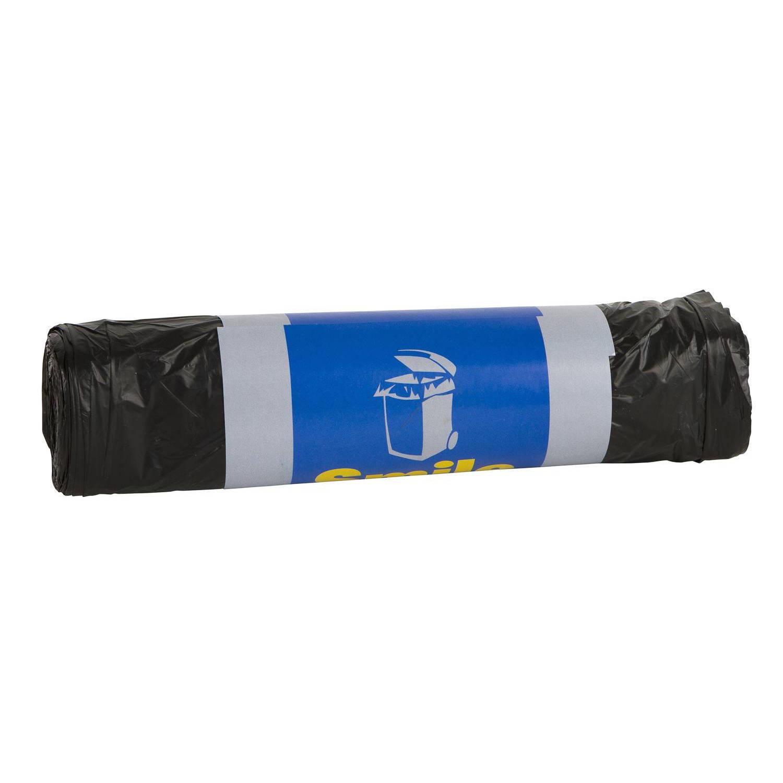 10x Containerzakken/afvalzakken/vuilniszakken Gerecycled 240 Liter - Anti Geur Rolcontainer Zakken